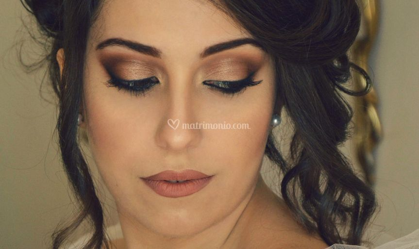 Makeup sposa, dettaglio
