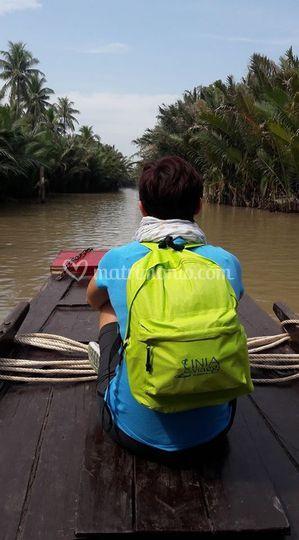 Fiume mekong - vientam