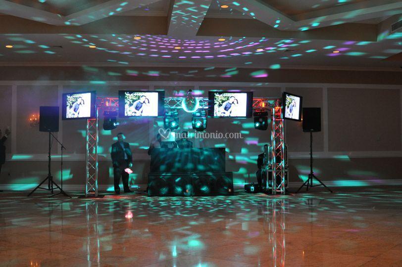 Tipo Di Allestimento Di American Wedding By Remix Sound