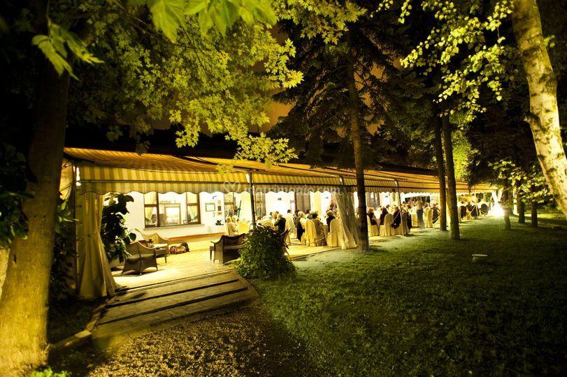 Veranda Rossa Vista Parco