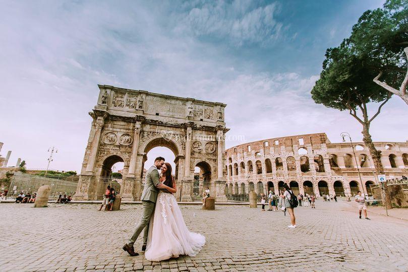 Wedding in Rome