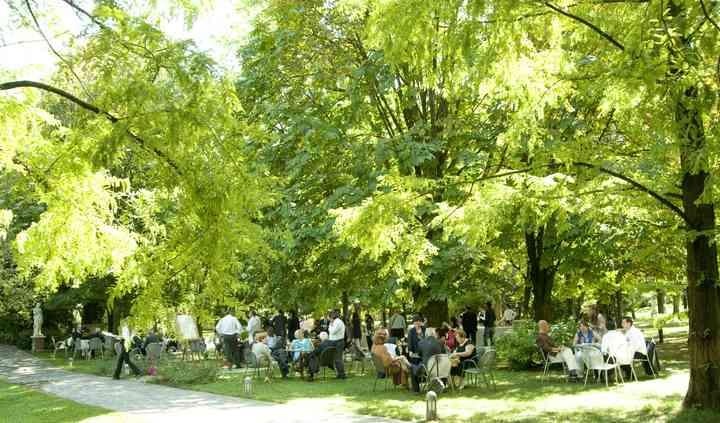 Area Buffet nel Parco