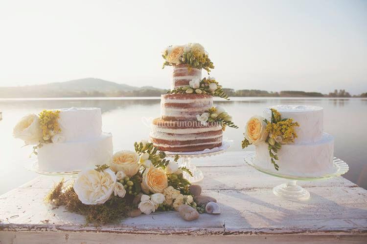 Trittico Naked Cake