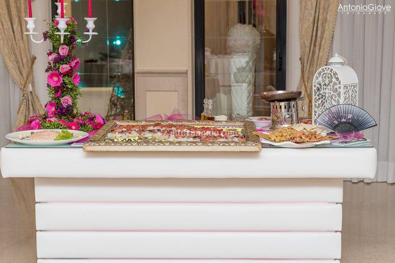 Tavolo buffet
