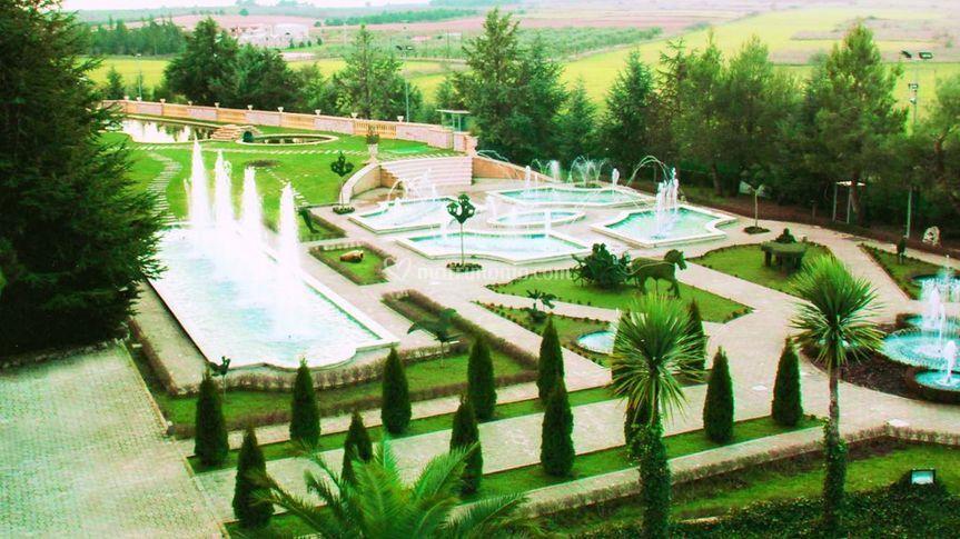 Giardino Villa Fano del Poggio