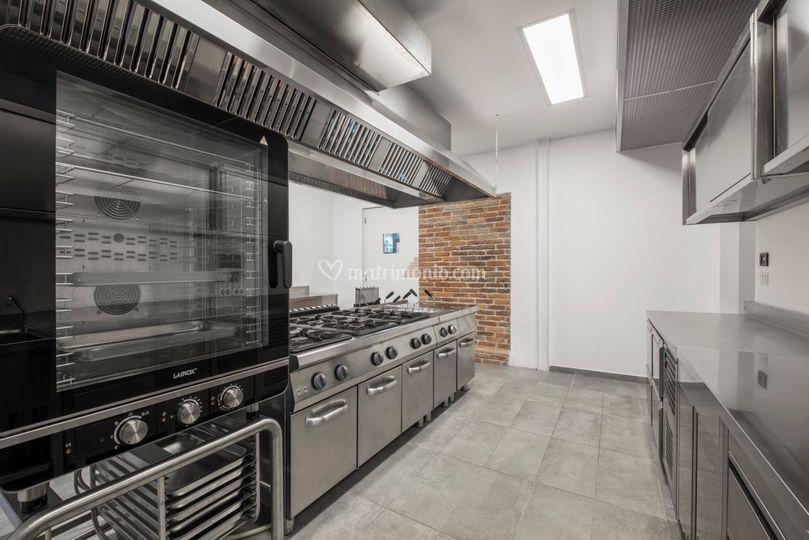 Cucina a disposizione