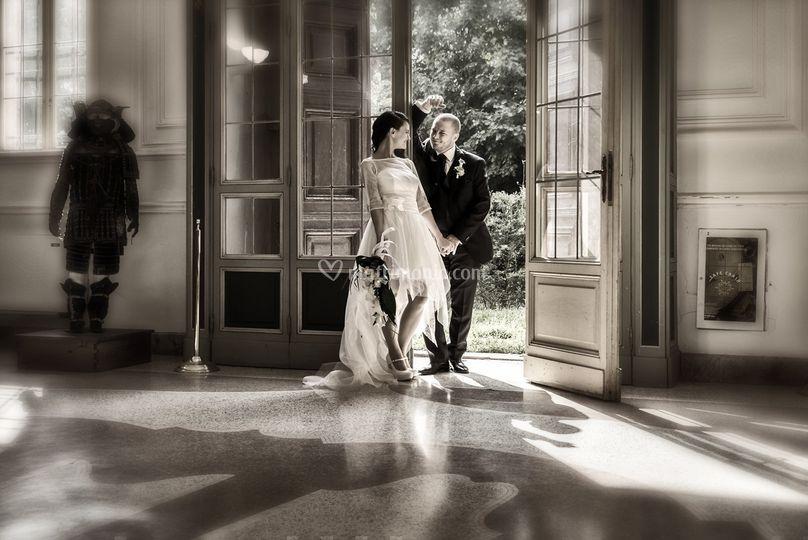 Sposi alla reggia di Venaria