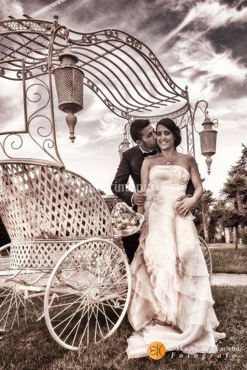 Sposi nel parco