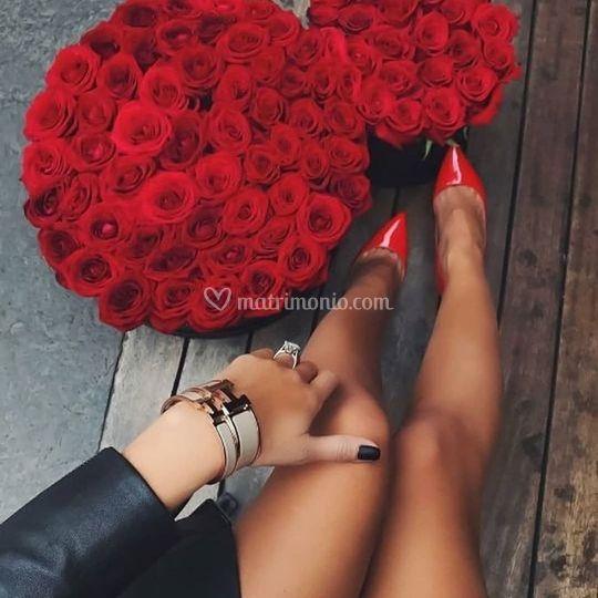 Centrotavola e bouquet da spos