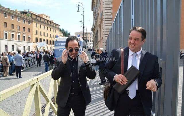 Con il M°  Piero Mazzocchetti