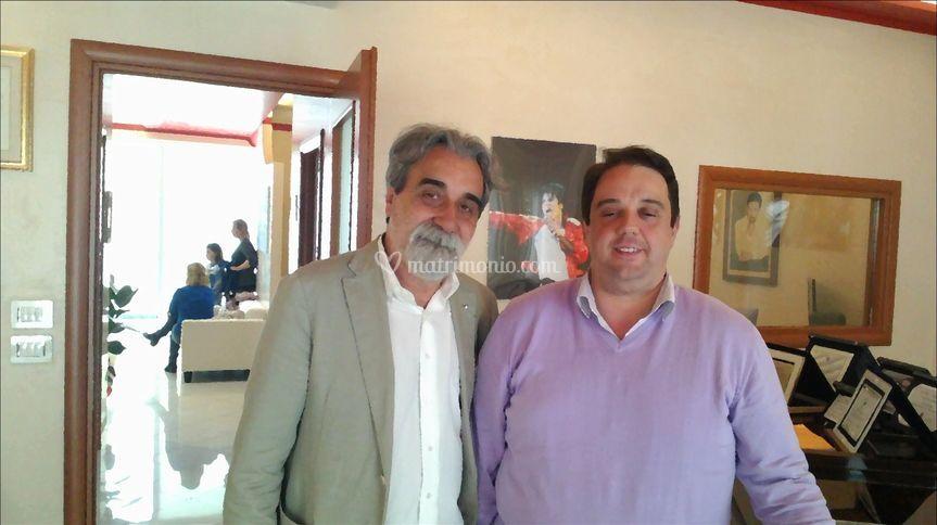 Con il M° Peppe Vessicchio