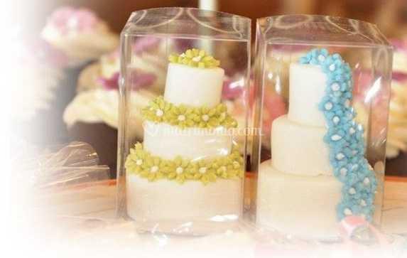 Segnaposto Matrimonio Mini Torte.Mini Cake Segnaposto Di Fantasie Di Zucchero Roma Foto 37