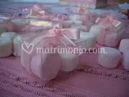 Segnaposto Matrimonio Marshmallow.Marshmallow Segnaposto Di Fantasie Di Zucchero Roma Foto 93
