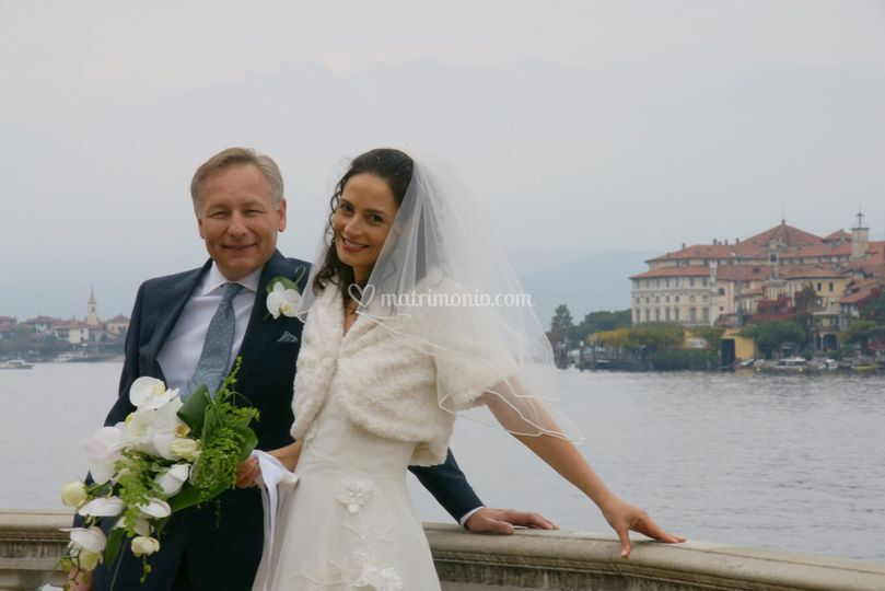 An English wedding in Stresa - Dama del Lago