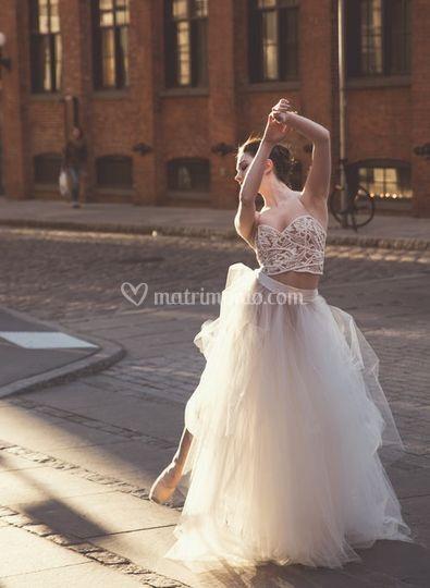 Una sposa ballerina...