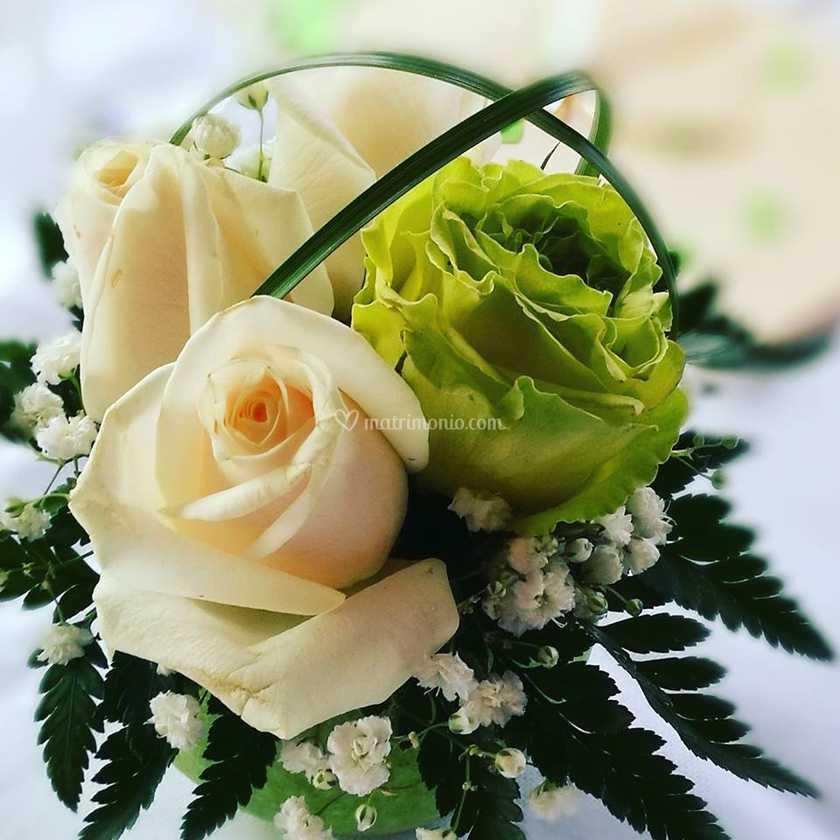 Bouquet Sposa Verde Mela.Centro Tavola Verde Mela Di Blue Rose Foto 53