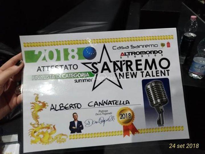 Finale sanremonewtalent 2018
