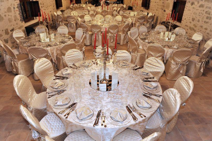 La sala elegante - Gold style
