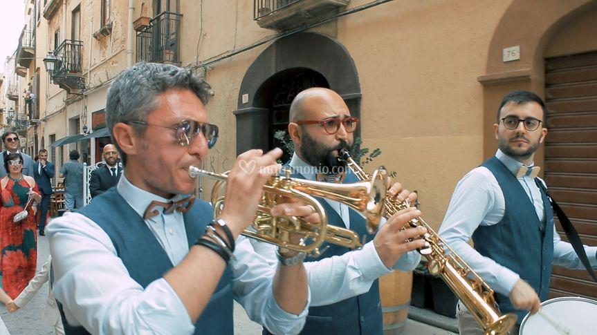 La street band