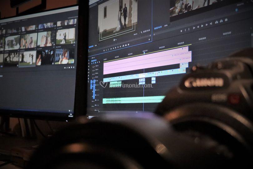Editing progress