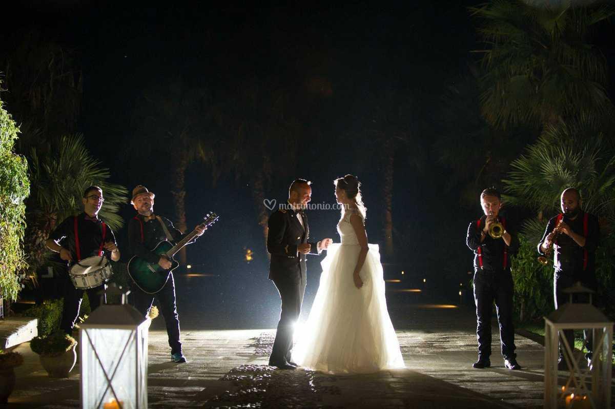 """""""street band""""Con gli sposi"""