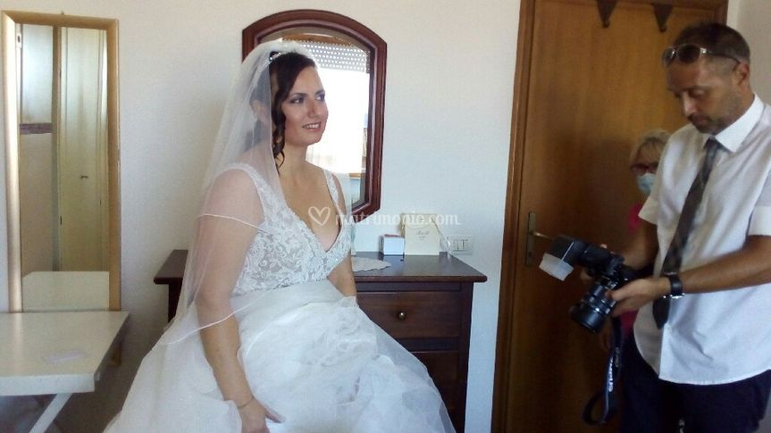 Wedding acconciatura, make-up