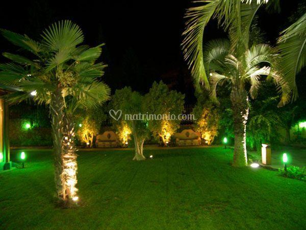 Illuminazione dei giardino