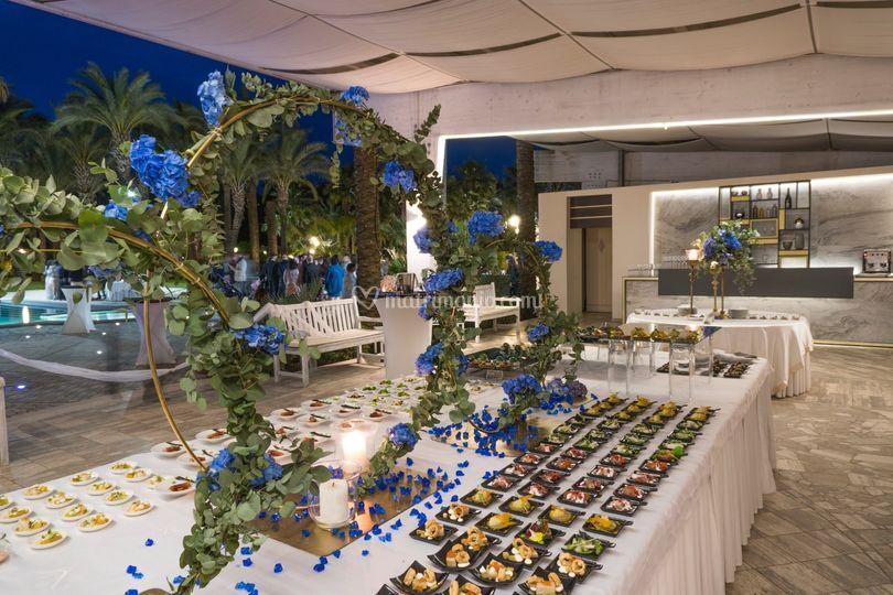 Blu notte buffet 5
