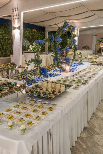 Blu notte buffet 4