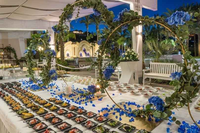 Blu notte buffet 3