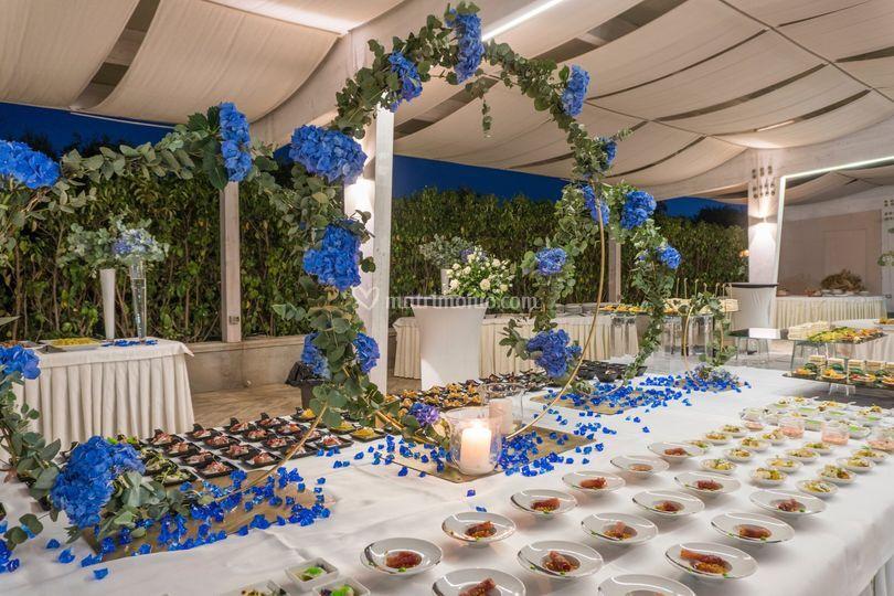 Blu notte buffet