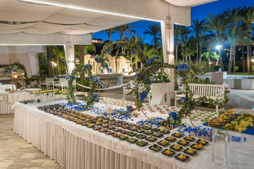 Blu notte buffet 6