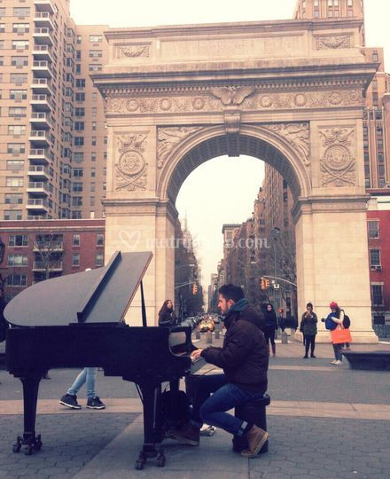 @ Washington Square Park NYC