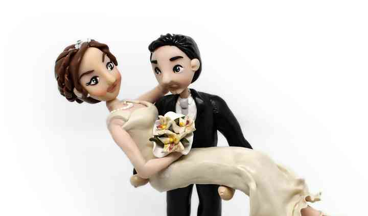 Caje topper matrimonio
