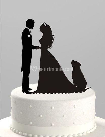 Esempio cake topper 2d da foto