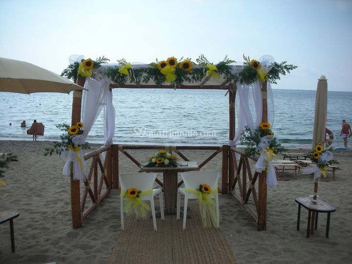 Gazebo spiaggia