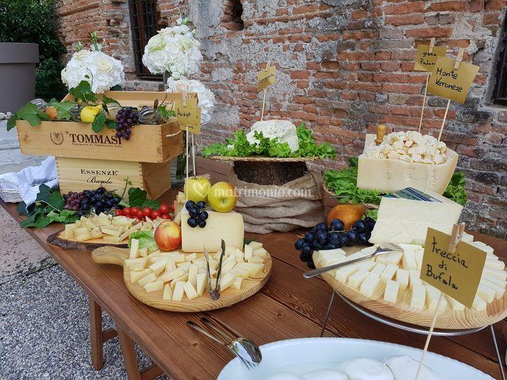 Tagliere dei formaggi