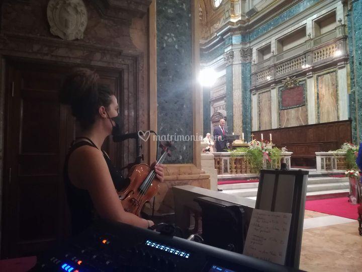 Piano e violino @S.Apollinare