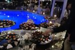 Bordo piscina sera