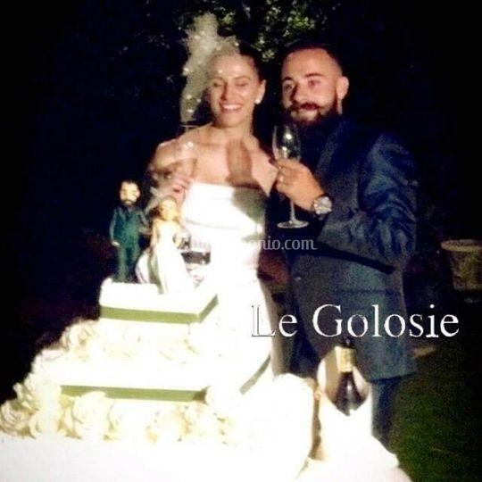 Topper of Wedding Cake