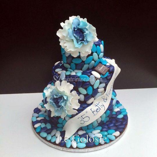 Wedding Cake di confetti
