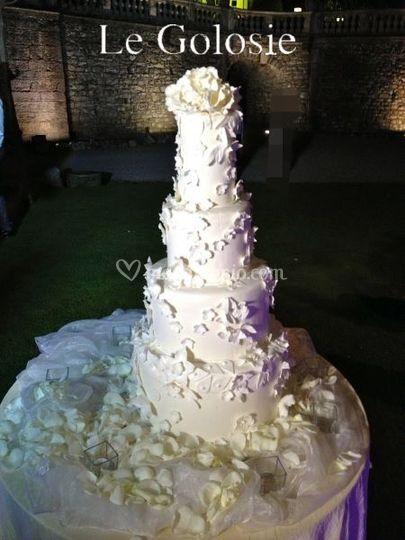 Tower Wedding Cake