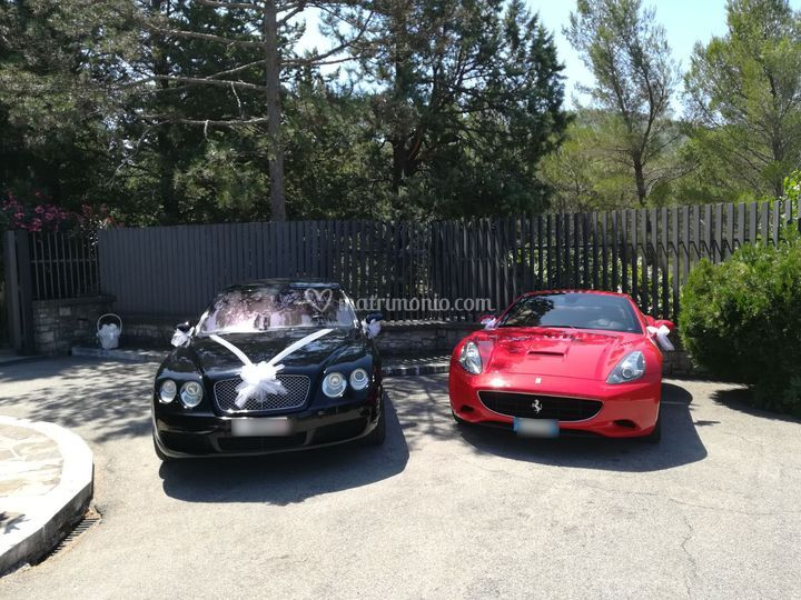 Ferrari Californi+Bentley Gt