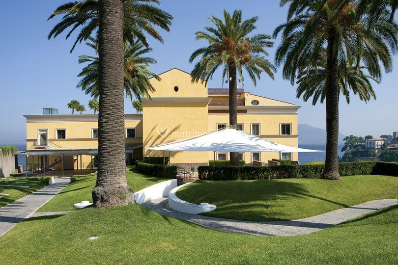 Grand Hotel Angiolieri - Il parco
