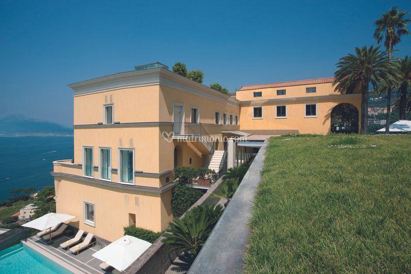 Grand Hotel Angiolieri - Vista piscina