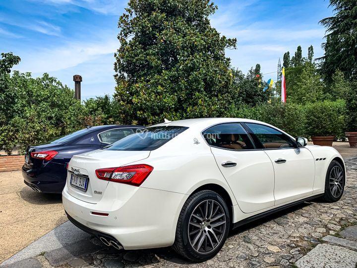 Maserati Ghibli Bianco
