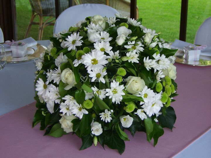 Centrotavola floreale