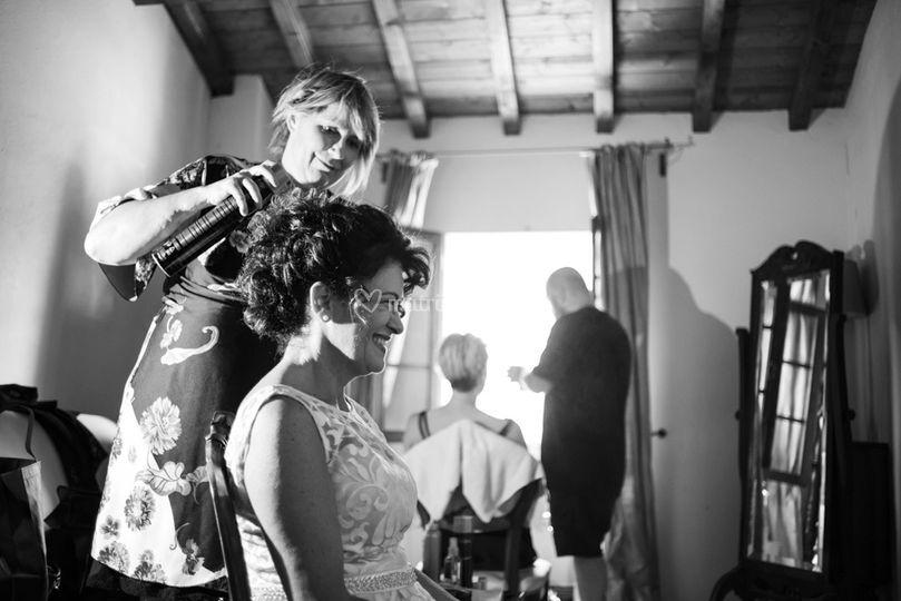 La preparazione dello sposa
