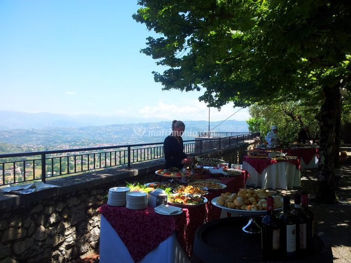 Il buffet panoramico