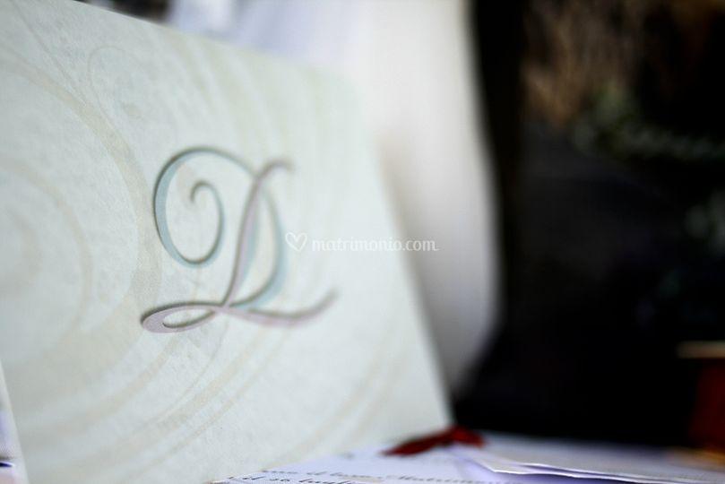 Invito con logo Iniziali
